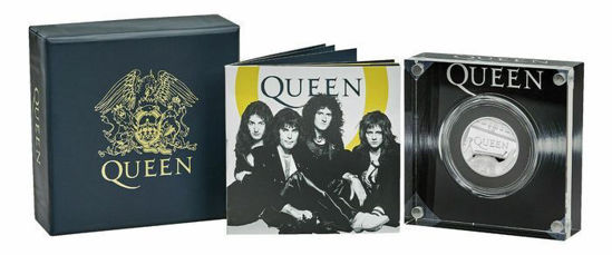 Picture of Англия, Великобритания 1 фунт 2020. «Queen» - британская рок-группа. Серебро 15,71 гр