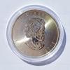 """Picture of Срібна монета """"Кленовий лист - військове видання"""" 31,1 грам 2018 р."""