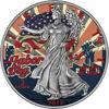 """Picture of Срібна монета """"Американський орел Liberty - День праці"""" 31.1 грам 2018 р."""