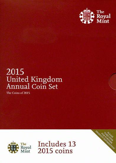 Picture of Англія, Великобританія Річний набір 2015 через 13 монет. BU