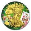 "Picture of Серебряная монета ""Американский орел Liberty - Покер"" 31.1 грамм 2018"