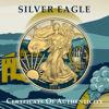 "Picture of Серебряная монета ""Американский орел Liberty - долина Напа"" 31.1 грамм 2019 г. США"