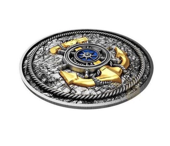 "Picture of Серебряная монета ""Якорь"" 62,2 грамм 2019 г. Ниуэ"