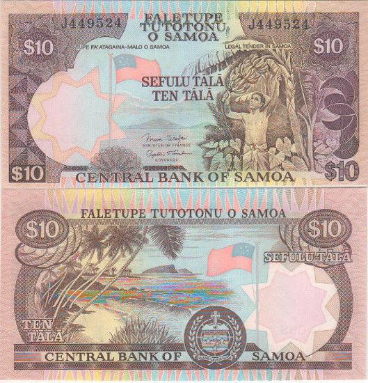 Picture of Самоа 10 тала 2002 (Р34)