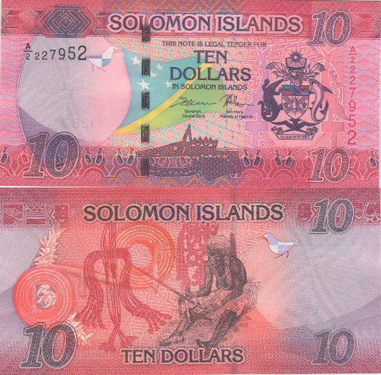 Picture of Соломоновы Острова 10 долларов 2017