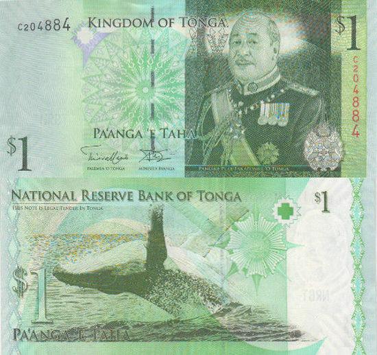 Picture of Королівство Тонга 1 паанга 2009 (2014)