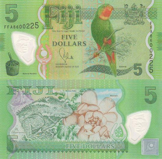 Picture of Фіджі 5 доларів 2013