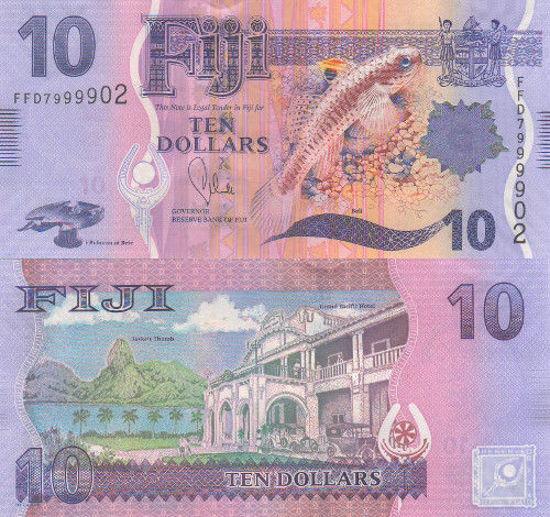 Picture of Фиджи 10 долларов 2013 (Р116)