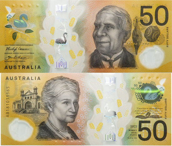 Picture of Австралія 50 доларів 2018