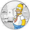 "Picture of  Срібна монета ""Гомер Сімпсон"" 15,55 грам Тувалу"