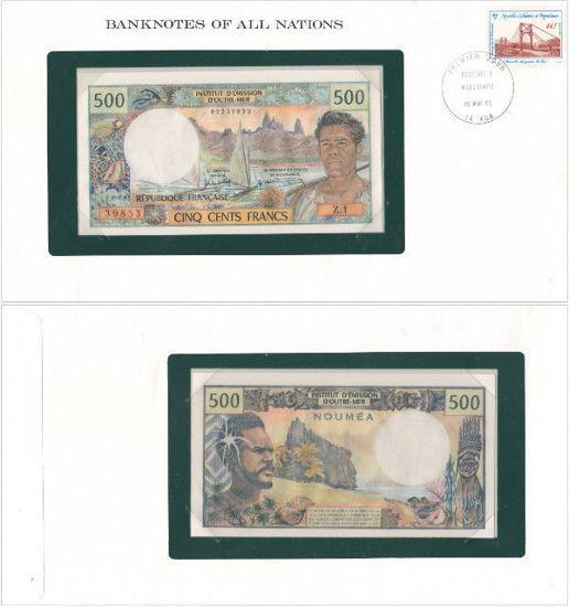 """Picture of Нова Каледонія 500 франків 1967 Серія """"Банкноти всіх країн світу"""""""