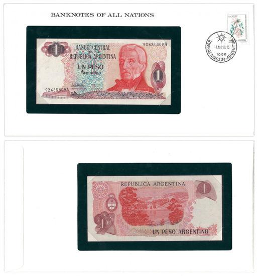 "Picture of Аргентина 1 песо 1983, Серия ""Банкноты всех стран мира"""