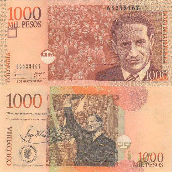 Picture of Колумбия 1000 песо 2005