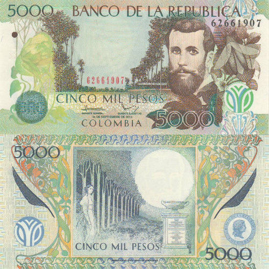 Picture of Колумбія 5000 песо 2013