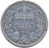 Picture of 1 крона Угорщина 1892-1907  рік Срібло