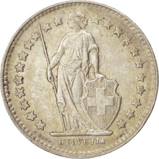 Picture of 1/2 франка Швейцария Серебро 1875-1967 год