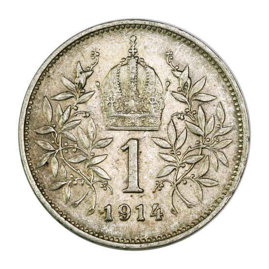 Picture of 1 крона Венгрия 1892—1907 ,  1912-1916 год Серебро