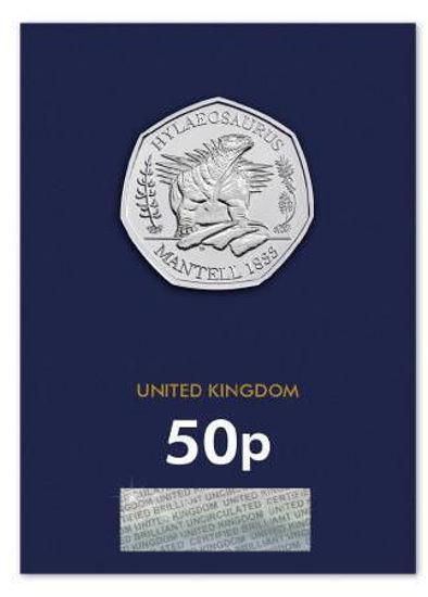 Picture of Англия, Великобритания 50 пенсов 2020. Гилеозавр