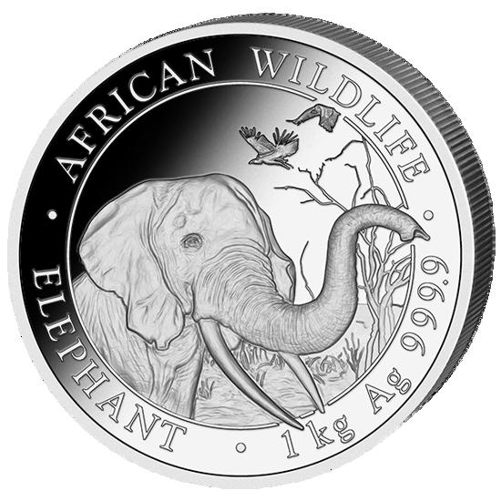 """Picture of Слон - серия """"Африканская живая Природа"""" 1 кг., 2018 г."""