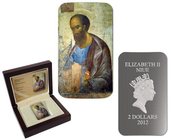 "Picture of Срібна Ікона ""Апостол Павло"" 31,1 грам 2012 р."
