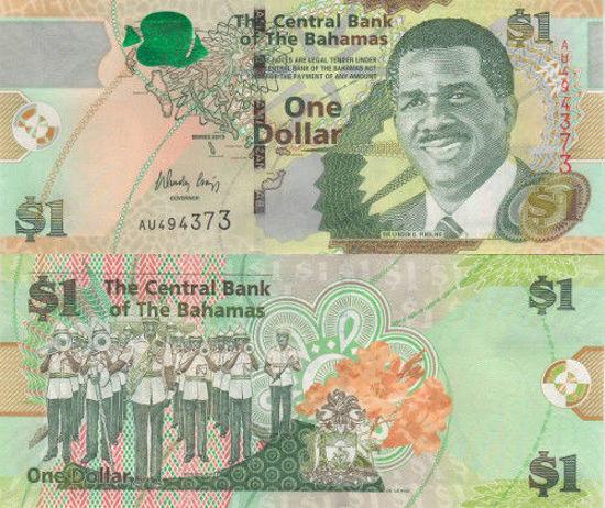 Picture of Багамські острови 1 долар 2015 (Р-71)