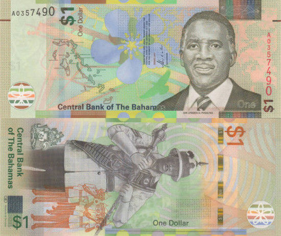 Picture of Багамські острови 1 доллар 2017