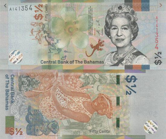 Picture of Багамские острова 1/2 доллара (50 центов) 2019