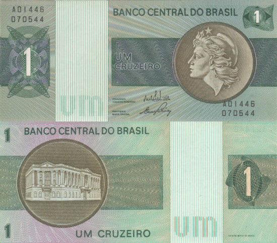 Picture of Бразилия 1 крузейро 1970 (Р-191)
