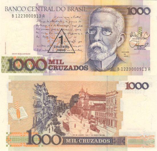 Picture of Бразилия 1 новый крузадо