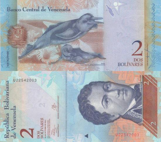 Picture of Венесуэла 2 боливара 2013