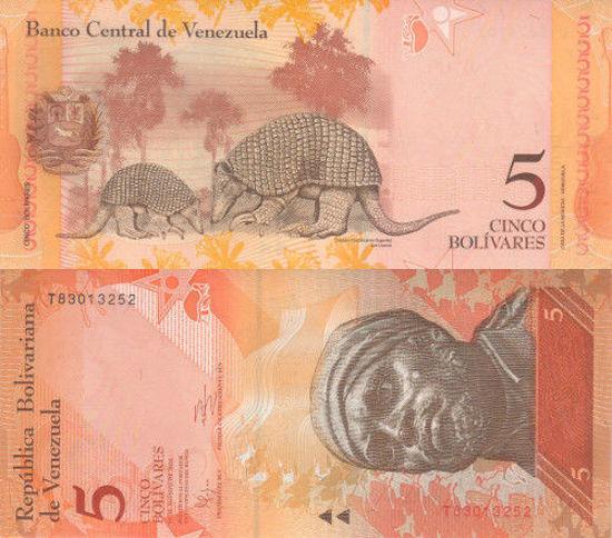 Picture of Венесуела 5 болівара 2014