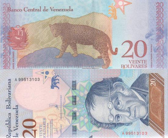 Picture of Венесуэла 20 боливар 2018