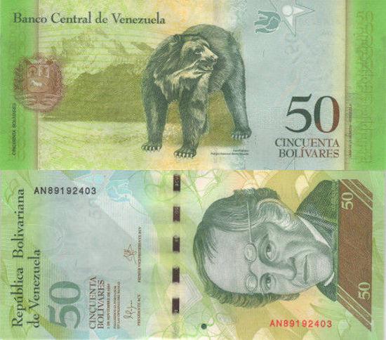 Picture of Венесуэла 50 боливар 2015