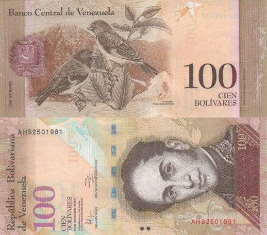 Picture of Венесуэла 100 боливар 2012