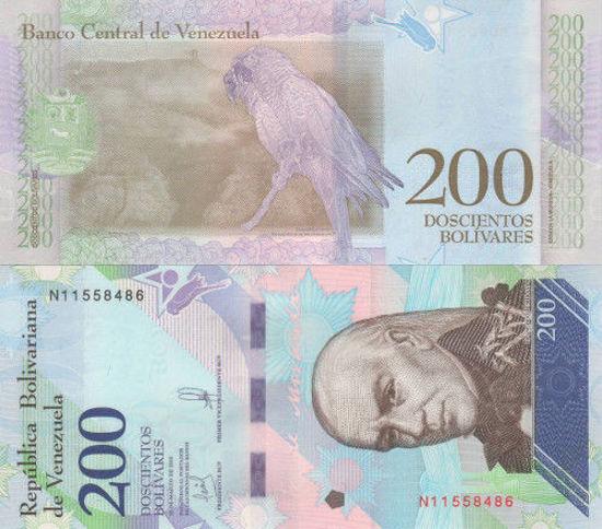 Picture of Венесуэла 200 боливар 2018