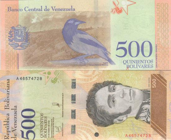 Picture of Венесуэла 500 боливар 2018