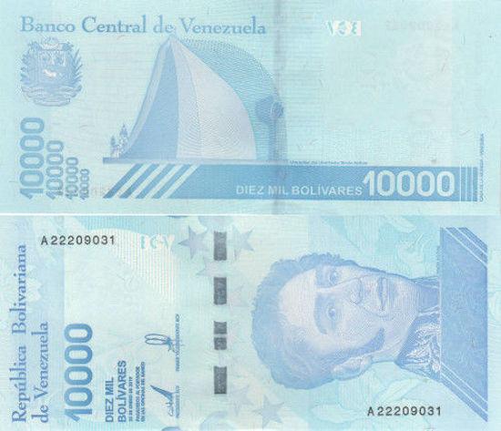 Picture of Венесуэла 10000 боливар 2019
