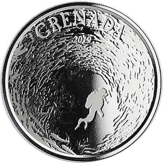 "Picture of Серебряная монета ""Гренада - рай для дайверов"" 31,1 грамм 2019 г."