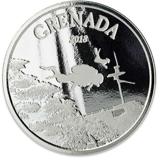 """Picture of Срібна монета """"Гренада - рай для дайверів"""" 31,1 грам 2018 р."""