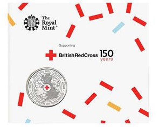 Picture of Англия, Великобритания 5 фунтов 2020. Красный Крест