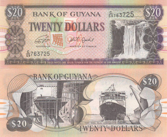 Picture of Гайана 20 доларів 2019
