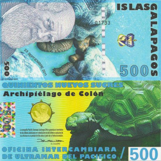 Picture of Галапагоські острови 500 сукре 2011