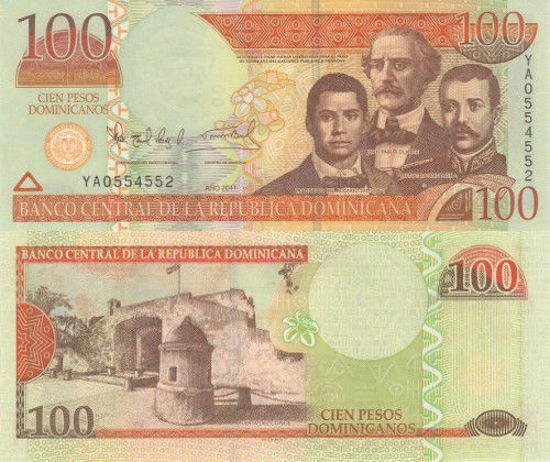 Picture of Доминиканская Республика 100 песо 2011 (Р 177)