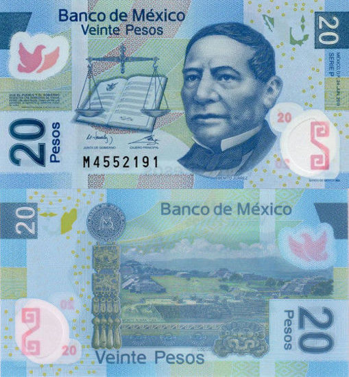 Picture of Мексика 20 песо 2011