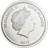 """Picture of Срібна монета """"Вітрильник"""" 500 грам Острови Кука 2012 р."""