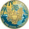 "Picture of Серебряная монета  ""Американский орел Liberty - Гавайи"" 31.1 грамм 2018 г. США"