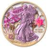 "Picture of Серебряная монета  ""Американский орел Liberty - Еврейский праздник  BAT MITZVAH "" 31.1 грамм 2019 г. США"