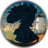 "Picture of Серебряная монета  ""Американский орел Liberty - остров Мартас-Винъярд"" 31.1 грамм 2018 г. США"