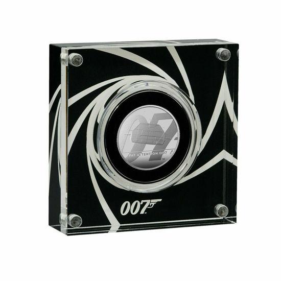 "Picture of Англия, Великобритания, 1 фунт 2020 Джеймс Бонд ""Агент 007"". Подводная лодка. Proof, Серебро. ІІ тип"