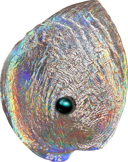 """Picture of Срібна монета """"Морські мушлі"""" серія - Скарби моря, 25 грам 2012 р. Палау"""